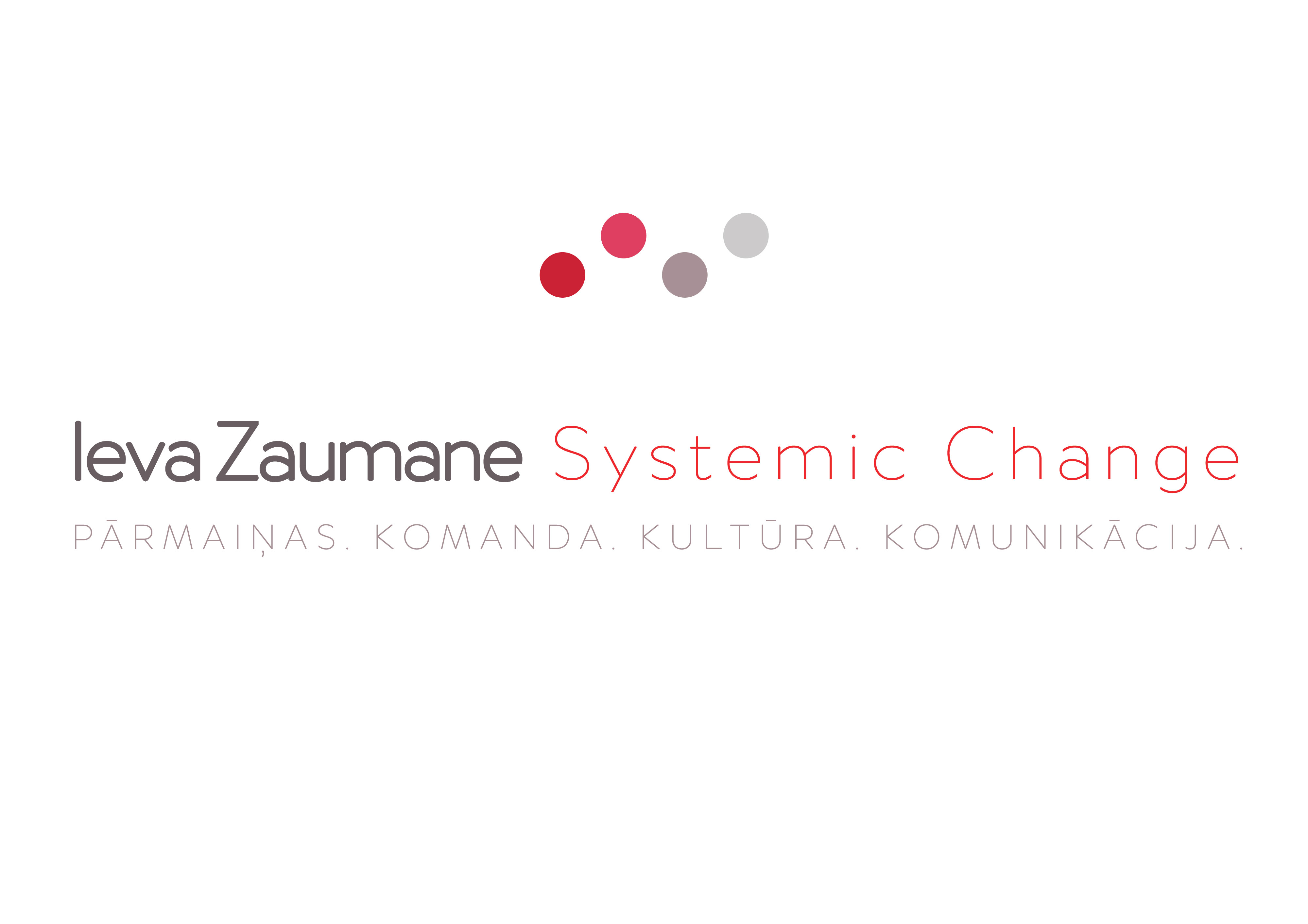 Ieva Zaumane Systemic Change SIA